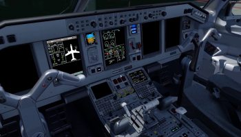 FEELTHERE EMBRAER EMB FOR P3D4 FLIGHT SIMULATOR DARK AND COLD